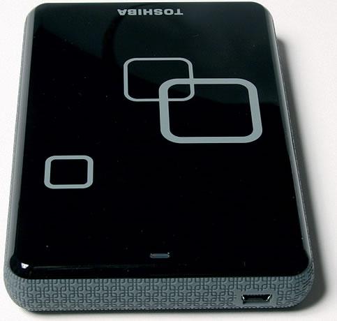 Vista Frontal - Toshiba Disco Externo 2 Teras