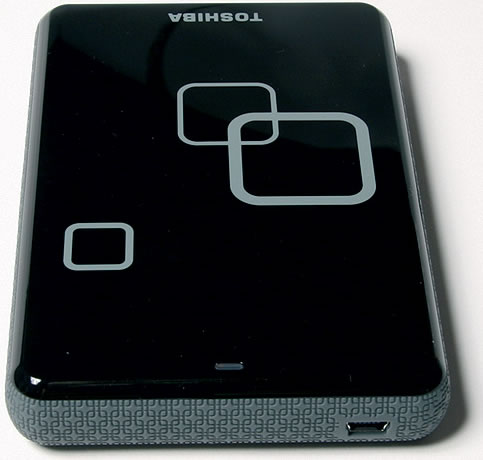 Vista Frontal - Toshiba Disco Externo 640GB