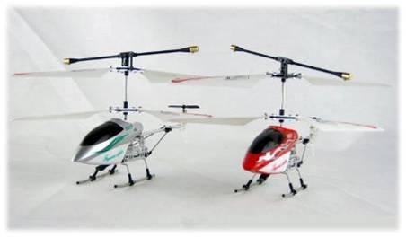 Vista Frontal -   Helicóptero a Control Remoto