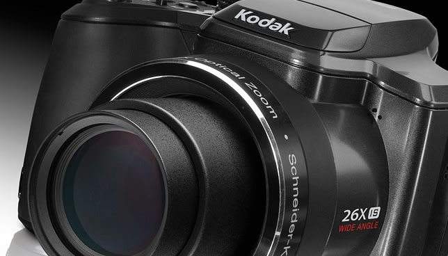 Vista Frontal - Kodak EasyShare Z981