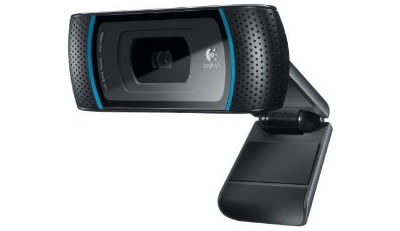 Vista Lateral - Logitech C910 Full HD