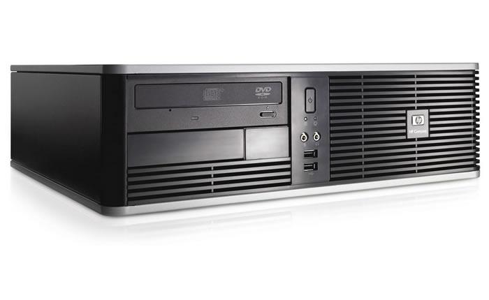 Vista Lateral - Hewlett Packard DC 5700