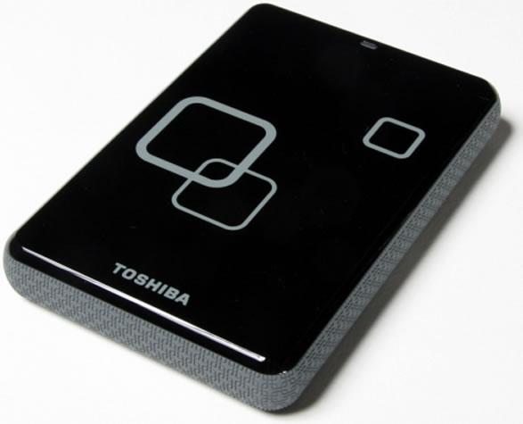 Vista Lateral - Toshiba Disco Externo 640GB
