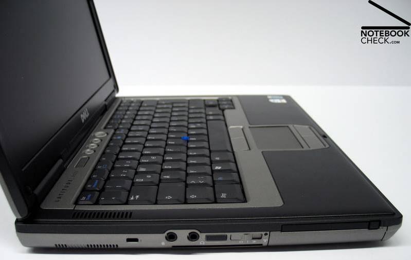 Vista Lateral Izquierda - Dell Latitude D620