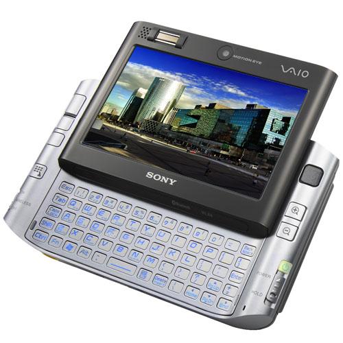 Vista de Perfil - Sony Vaio UX280FN
