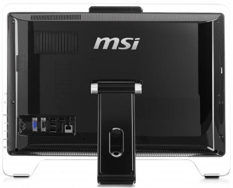 Vista Posterior - MSI AE2010