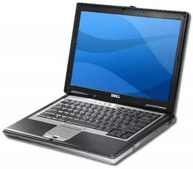 Vista Superior Derecha - Dell Latitude D620