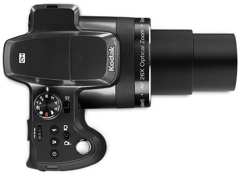 Vista Superior - Kodak EasyShare Z981