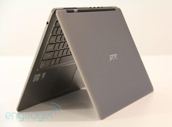 Vista Tapa - Acer S3 UltraBook Aspire