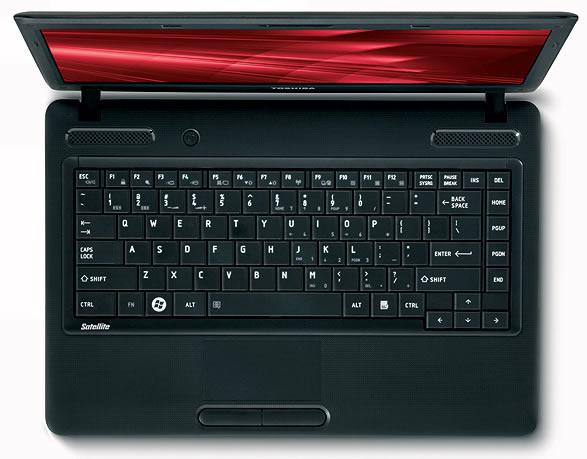 Vista Teclado - Toshiba C845 SP4201L